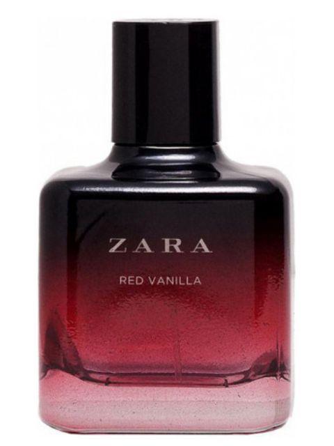AmberorRed Zara Black Vanilla Edt Eau De Woman Toilette lFK5uJcT13