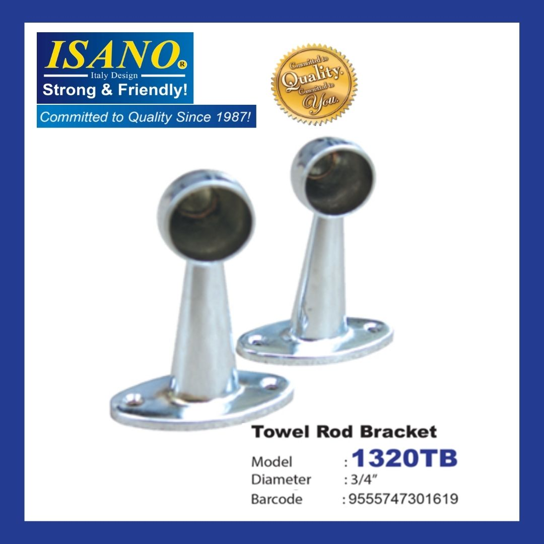 ISANO TOWEL ROD BRACKET 1320TB
