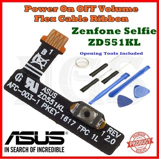 ASUS Zenfone Selfie ZD551KL Power On OFF Volume Flex Cable Ribbon+ on
