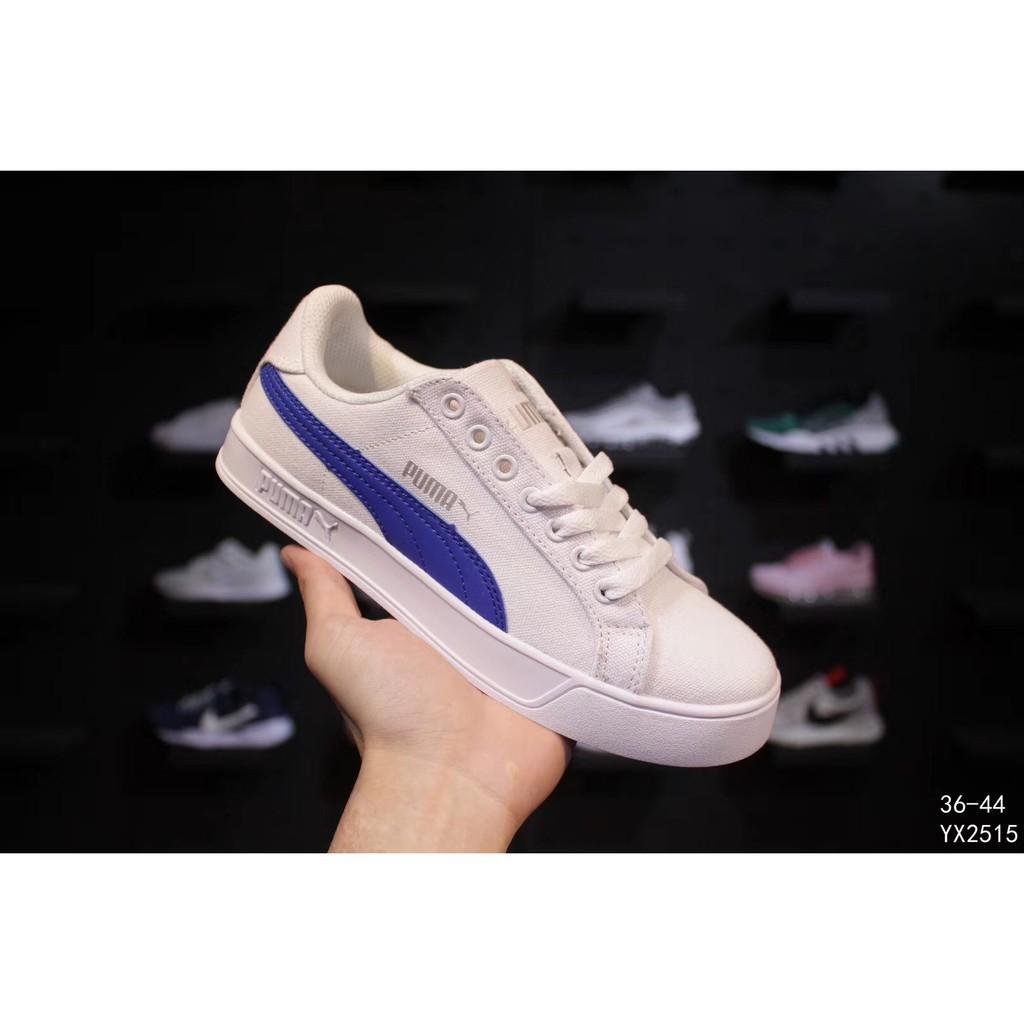AFY Puma Smash V2 Vulc CV men and women canvas shoes flat bottom sneakers