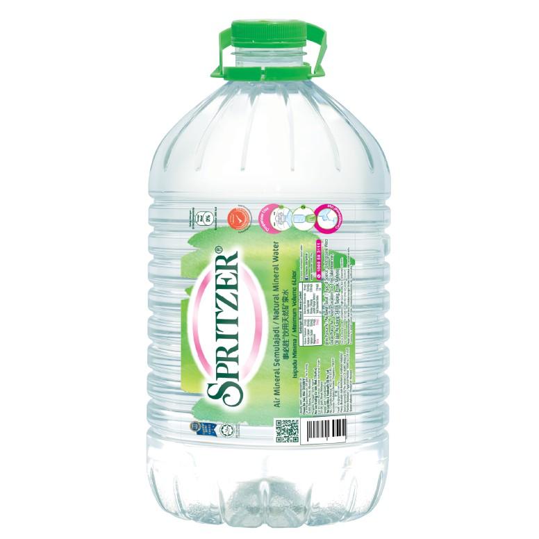 SPRITZER MINERAL WATER 6 LITER