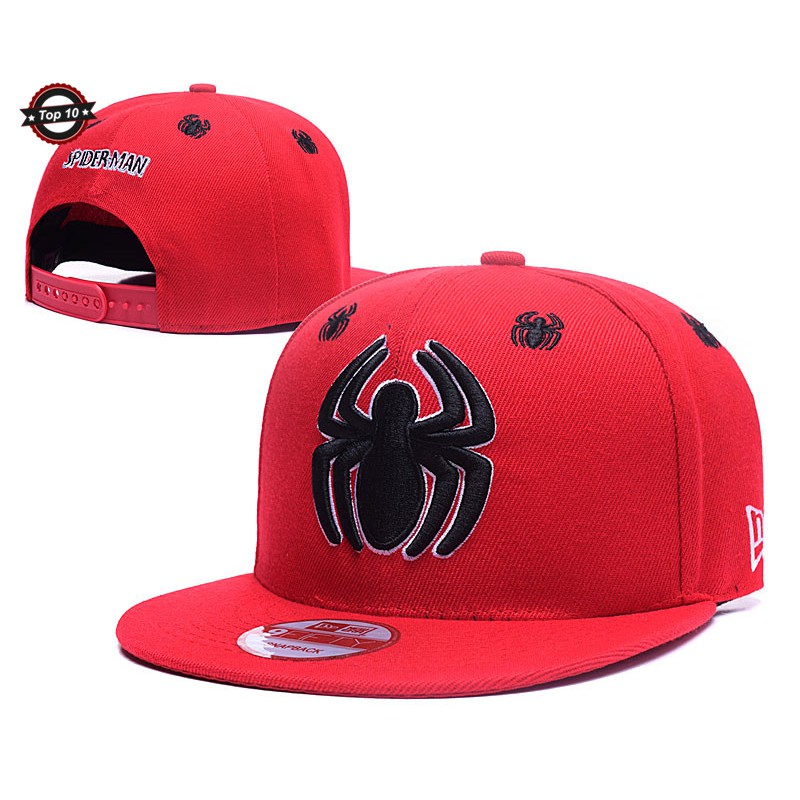 edbfdd7c2 Marvel's The Avengers Spider-Man Embroidery Cap Baseball Cap Adjustable Men  Cap