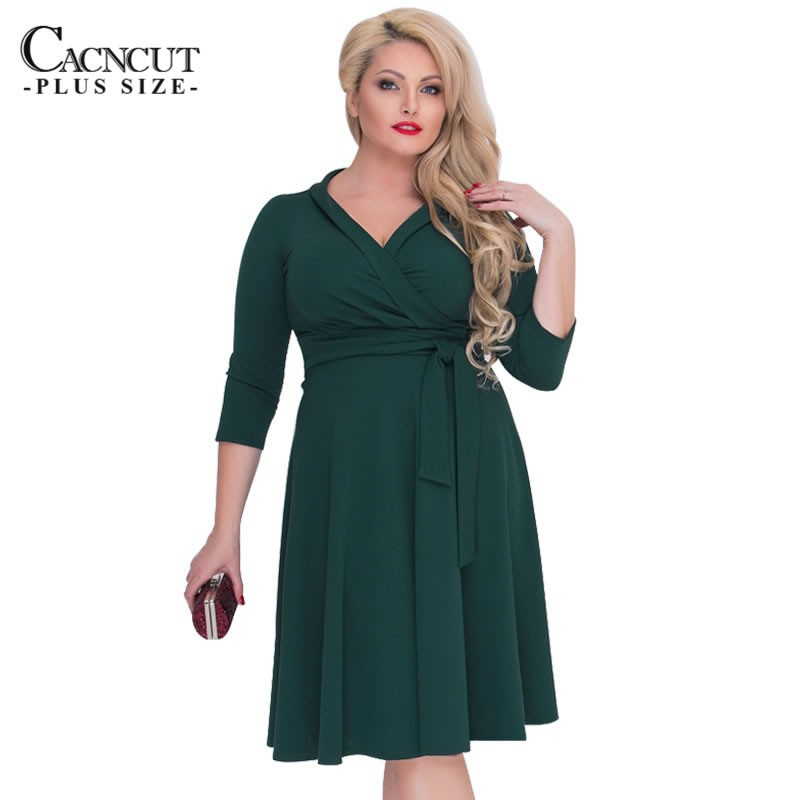 Women 6xl Elegant loose 2018 Winter 6XL Evening Party blue dress Plus Size  Dress  554c627faf7e