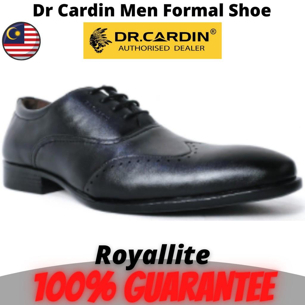 Dr Cardin Men Faux Leather Formal Lace up Shoes (YOC-6156) Black
