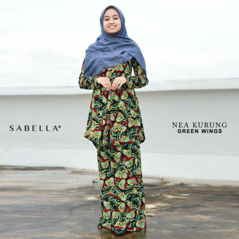 Sabella Nea Kurung [Ready Stock]