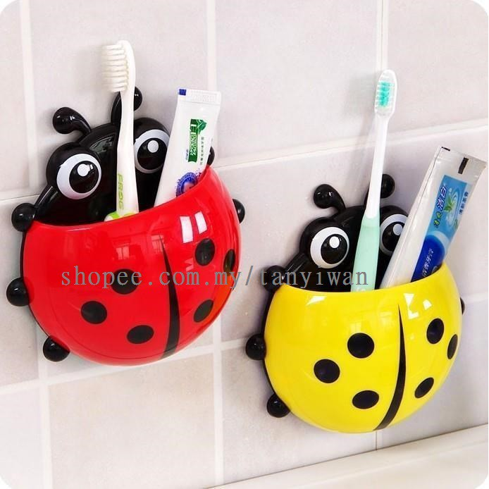 Design Wall Suction Toothbrush Holder