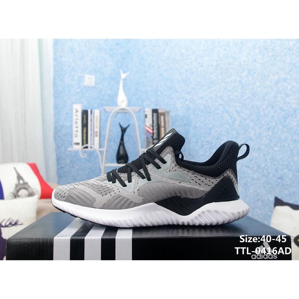 c4bb0979c Adidas AlphaBounce HPC AMS 3M(Grey)
