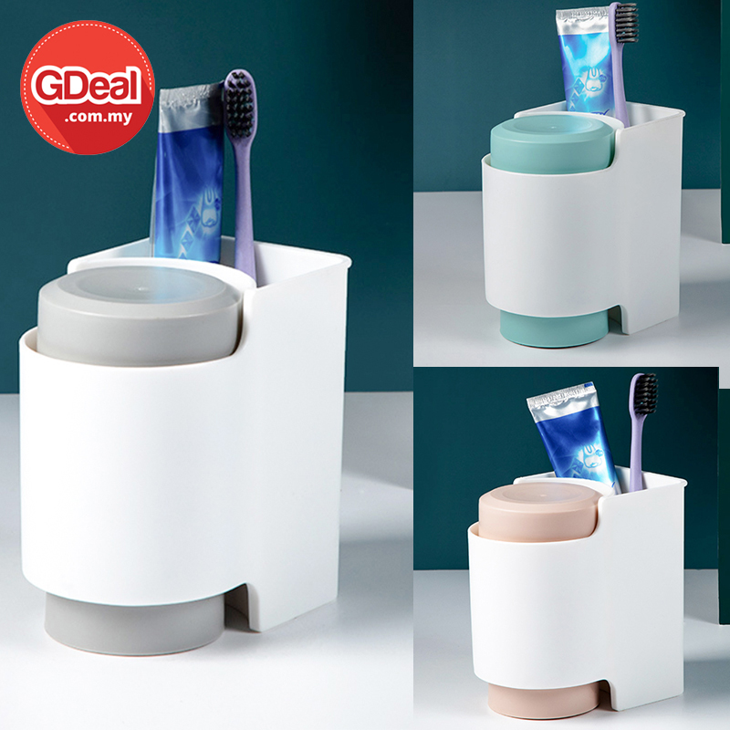 GDeal Multifunction Simple Toiletries Mouthwash Cup Toothbrush Toothpaste Cup For Bathroom Bekas Cawan