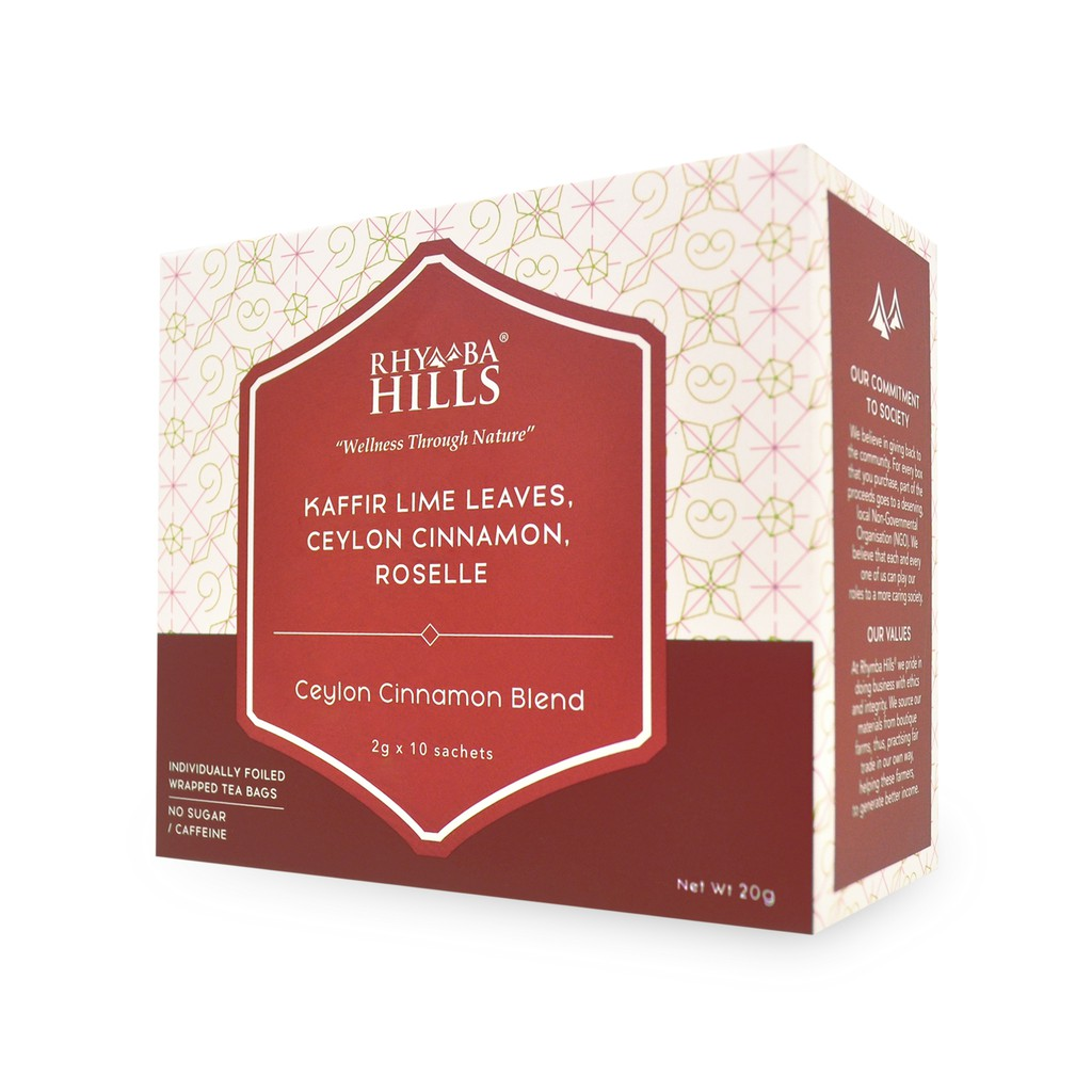 [Tea] Rhymba Hills® Ceylon Cinnamon Blend - 10sachets