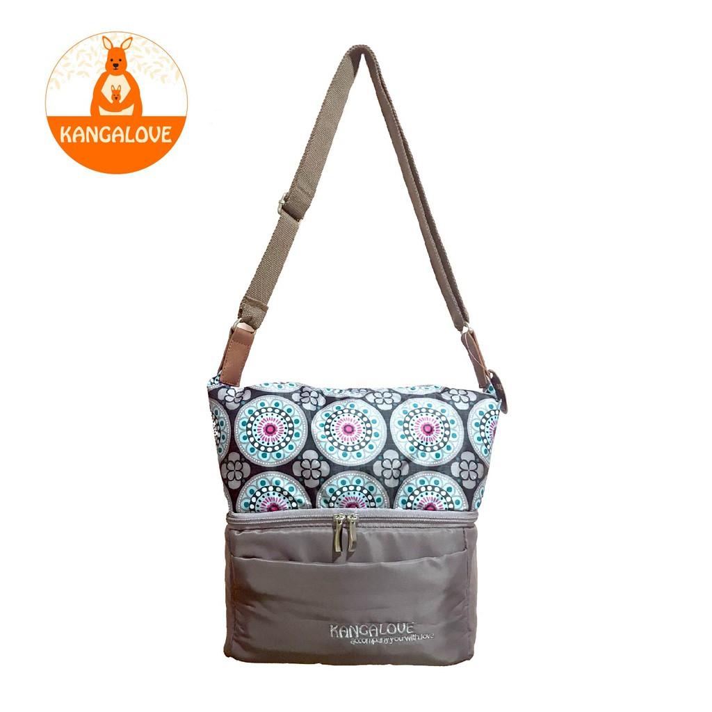 Kangalove 2 Compartment Classic Cooler Bag Grey Shopee Malaysia Medela