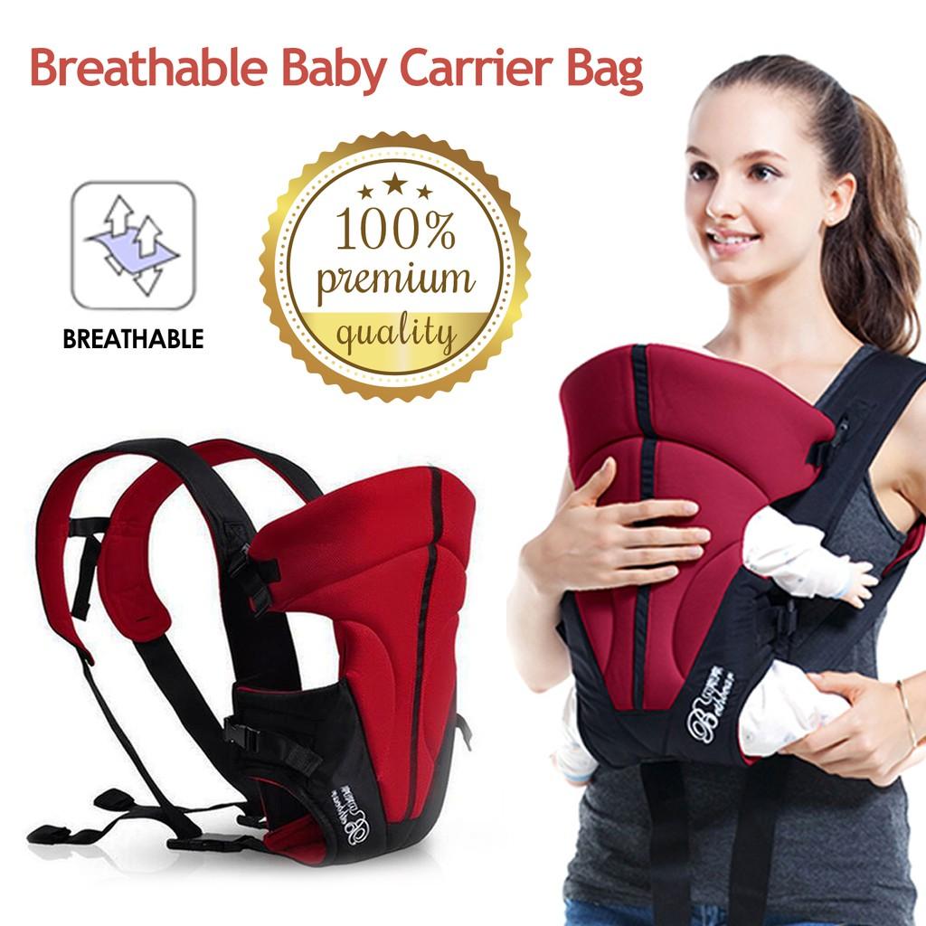 Domi Premium Baby Carrier Bag 1302 Front Breathable Infant Backpack