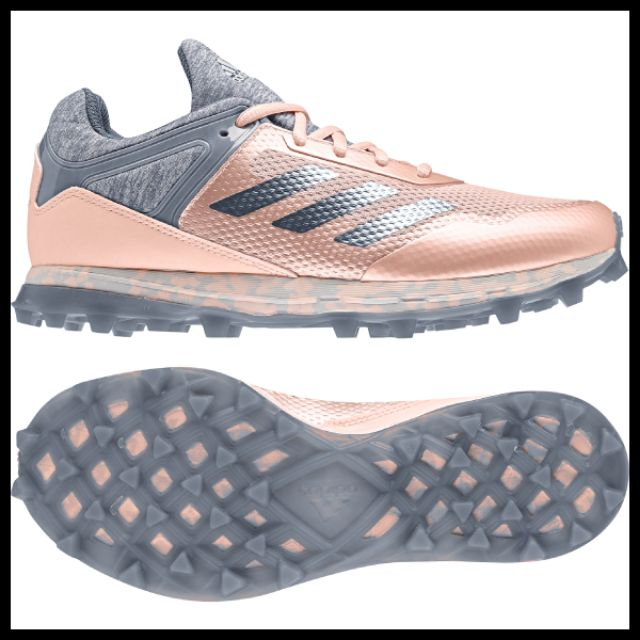 pink adidas hockey shoes