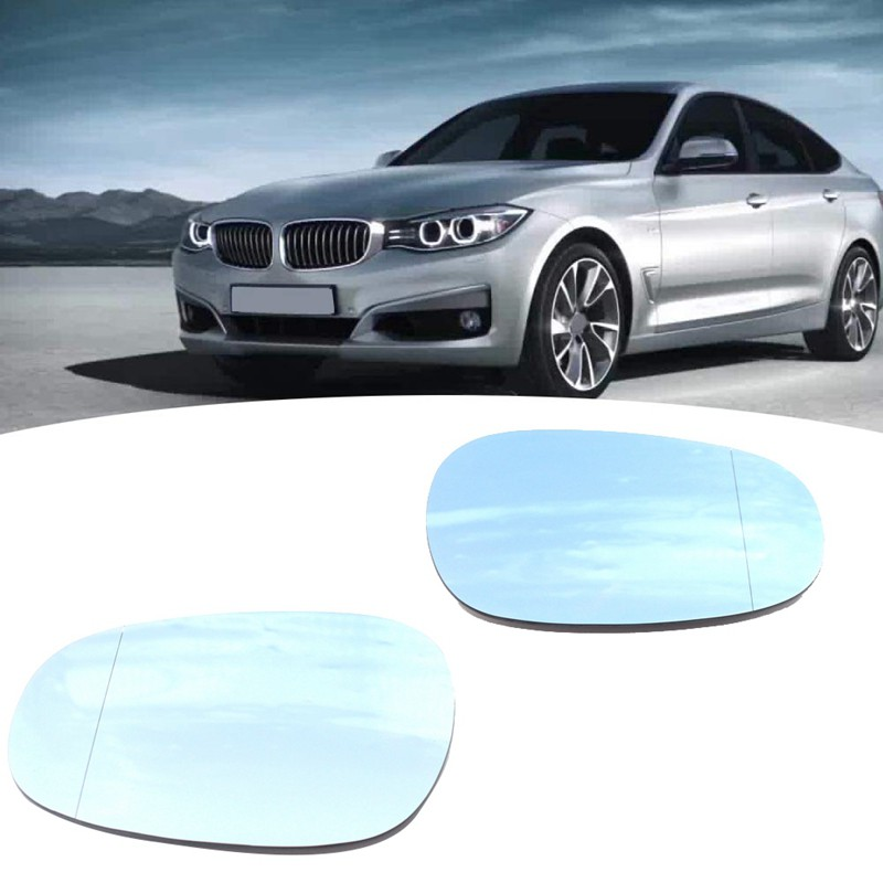 WING MIRROR GLASS BLUE HEAT LEFT BMW 1 SERIES E88 CONVERTIBLE 116i 2010