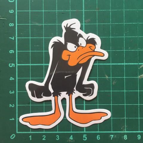 Hipster Ostrich Cute Vinyl Sticker Waterproof Decal