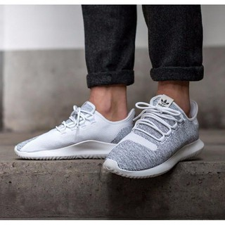 save up to 80% promo code super specials fast shopping original Adidas Tubular Shadow Knit White Black