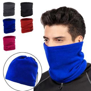 c9618ed91 Polar Fleece Thermal Neck Warmer Winter Sports Gaiter Face Mask ...