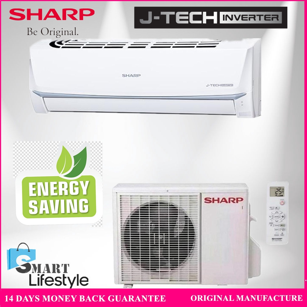 Sharp J- Tech Inverter Air Conditioner 1HP AHX9UED