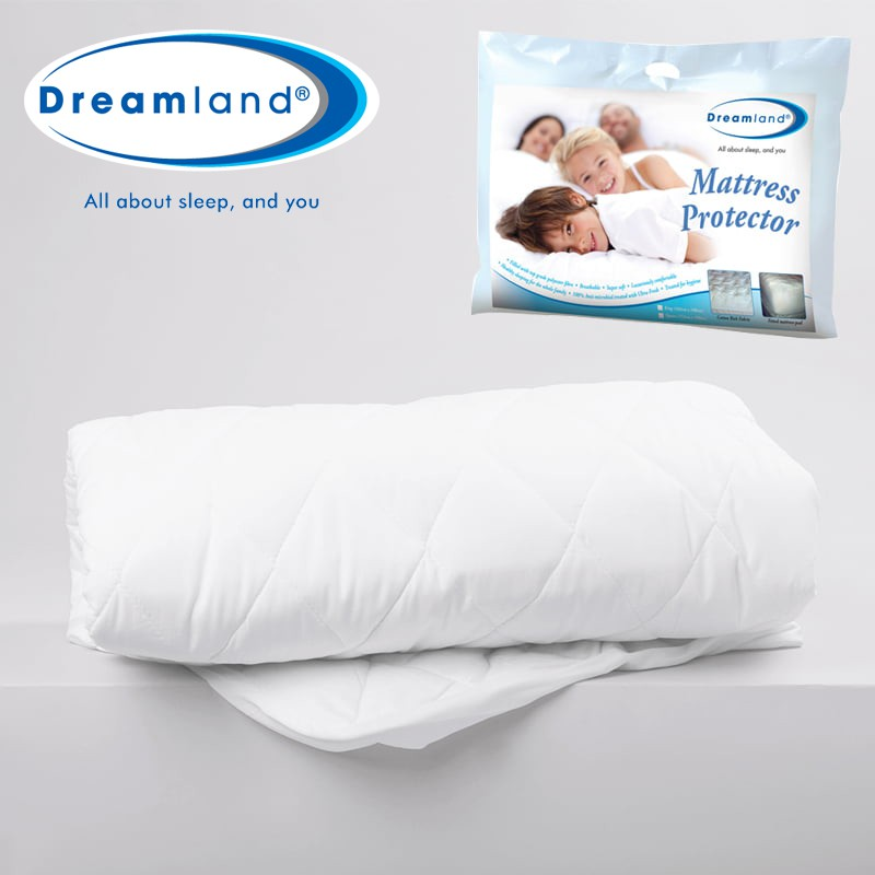 [ DREAMLAND ]DREAMLAND fitted mattress protector