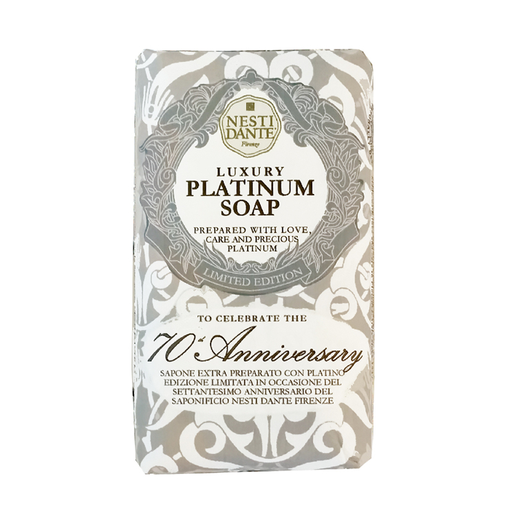 Nesti Dante Platinum Luxury Premium Soap 内斯蒂丹特 70周年铂金菁萃香皂 沐浴洁面 250g