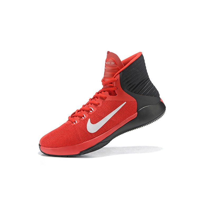 best website a8895 96e96 Nike PRIME HYPE DF 2016 EP Men's Basketball Shoes Red Black