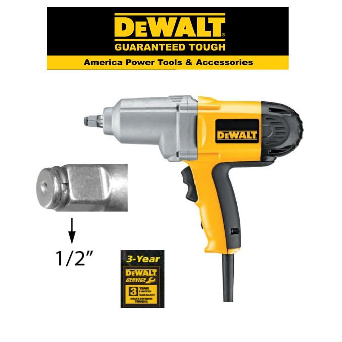 DEWALT DW293 - 1/2 HEAVY DUTY ELECTRIC IMPACT WRENCH WITH HOG RING ANVIL