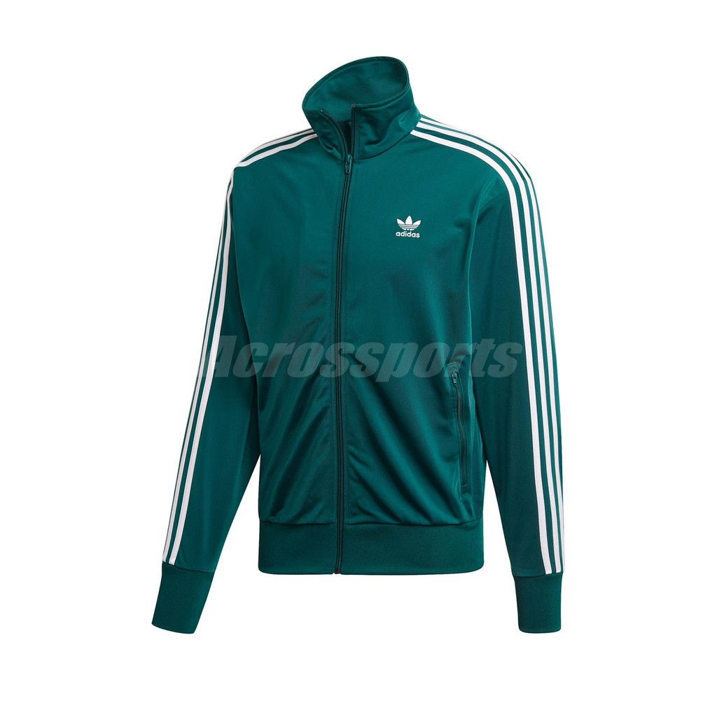 gritar He aprendido matar  Adidas Sports Jacket Firebird Tt Green White Men Jogging Acs Ed6072 |  Shopee Malaysia