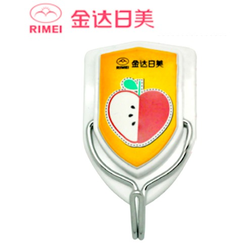RIMEI Strong Adhesive Hook Bathroom Kitchen Hook With Movable Metal Hook 2631