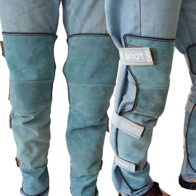Leather Leg warmers Welding Heat Insulation Protective Gear Safety Leg Gaiter