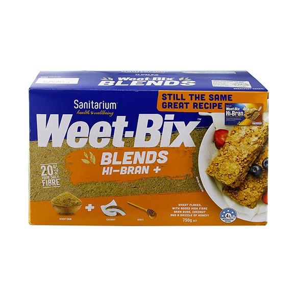 Sanitarium Weet-Bix Blends Hi Bran (750g)