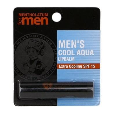 Mentholatum Lip Balm Men's Cool Aqua 3.5g