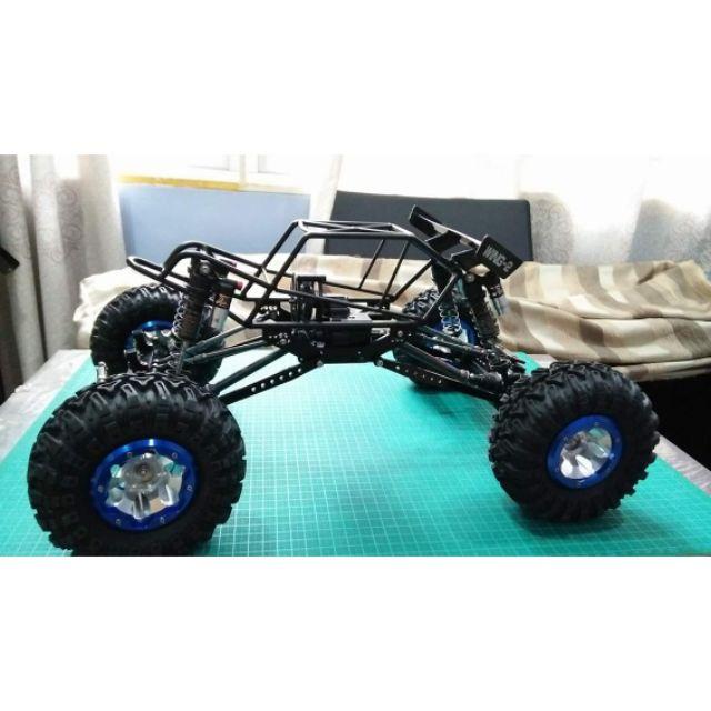 1 Pair Axial Wraith Aluminum Front C-Hub Black for 1:10 RC Crawler Car Off Road
