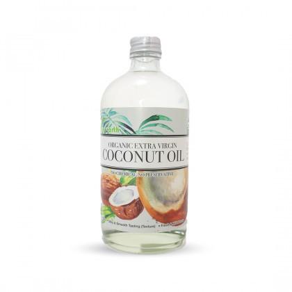 Love Earth Organic Extra Virgin Coconut Oil 480ml 乐儿有机冷萃取初榨椰子油 480毫升 (瓶装)