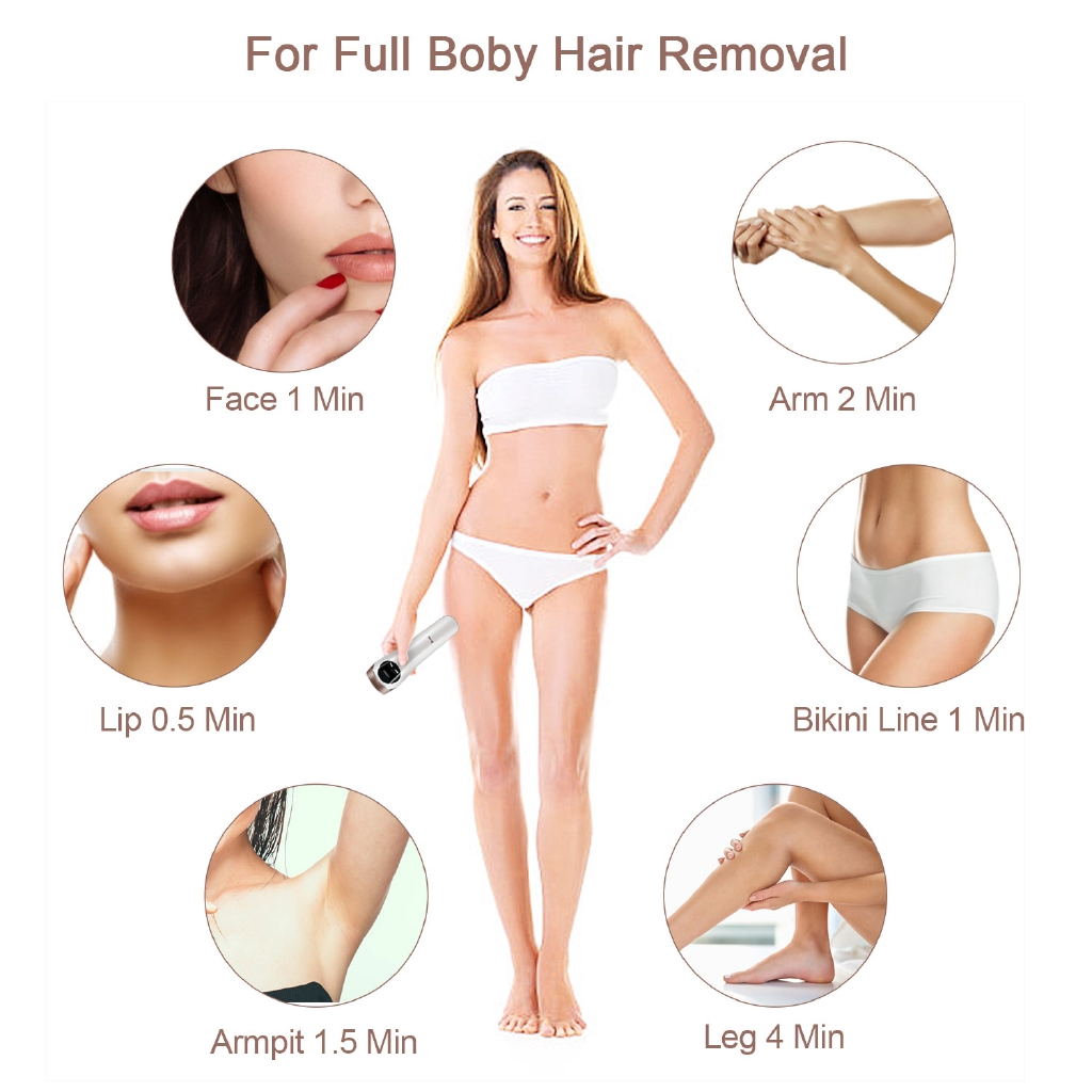 Ipl Hair Removal Device System For Women Men Laser Hair Remover