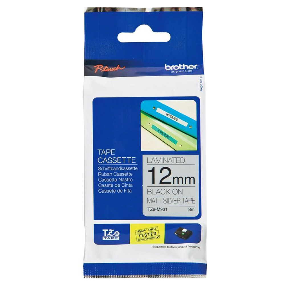 1-36x 12mm TZE FX631 TZ FX631 tape black//yellow for BROTHER P-TOUCH printers