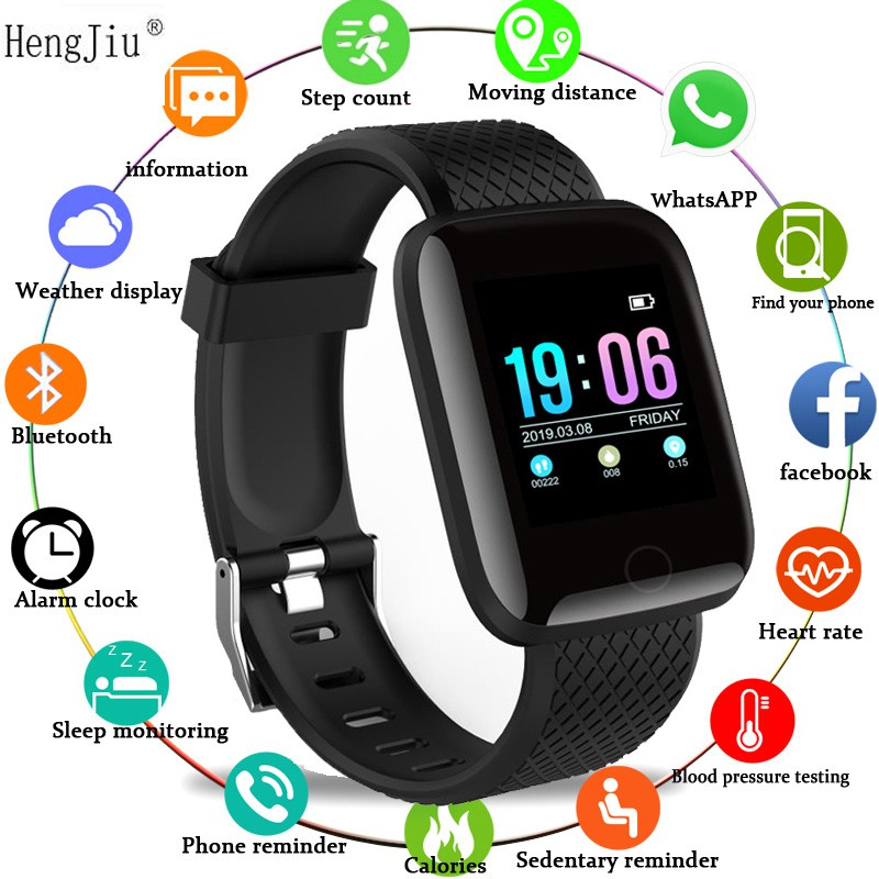 Smart Watch Blood Pressure Waterproof Smartwatch Women Heart Rate Monitor Fitness Tracker Watch Sport For Android IOs