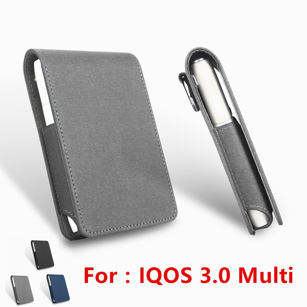New Leather Case New IQOS 3 0 Multi Cover Flip Cases Fashion Accessories Bag