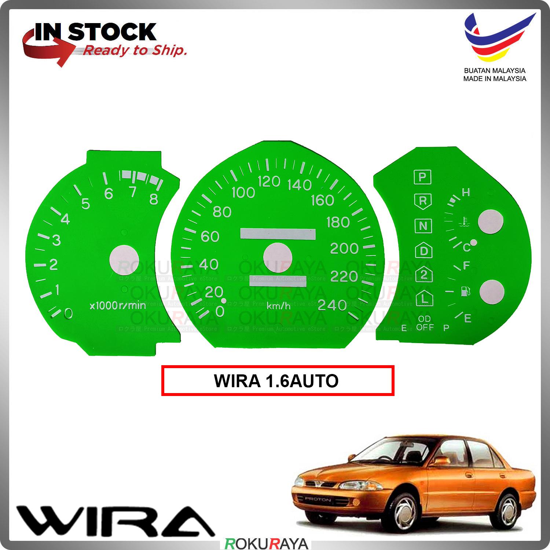 [1.6 AUTO] Proton Wira Satria Putra Meter Panel Garnish Decoration Cover Car Accessories Parts