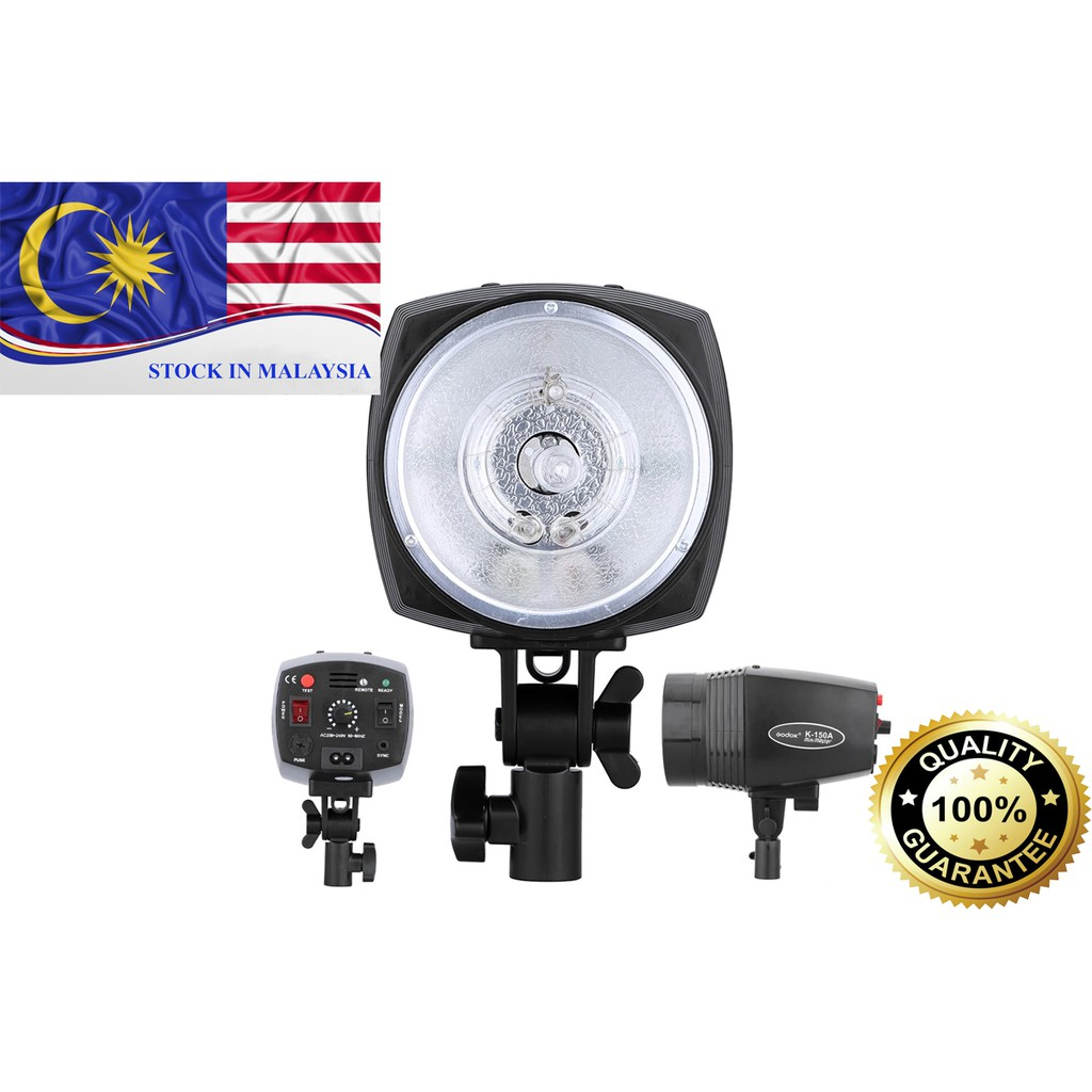 GODOX Mini Master K-150A 150WS Studio Strobe Flash Light (Ready Stock In Malaysia)