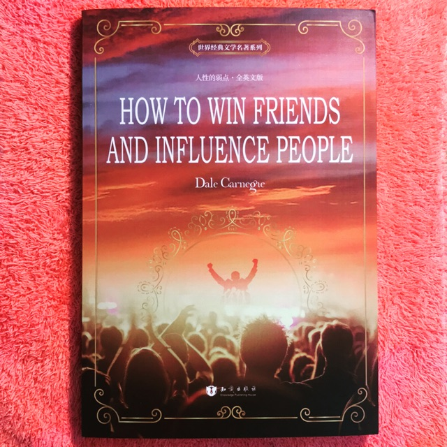 【Ready Stock 】How To Win Friends And Influence People