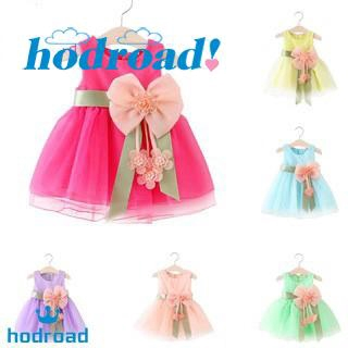 2061d1545d Baby Gilrs Big Bow Tie Sleeveless Princess Summer Party Wedding Dresses