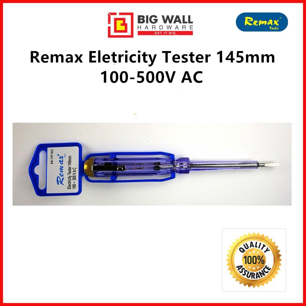 Remax Electricity Screwdriver /Test Pen 145mm (100V-500V)