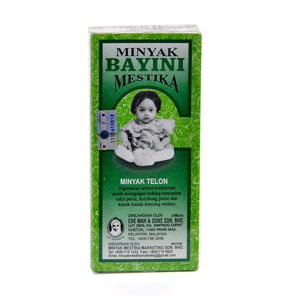Minyak Bayini Mestika Minyak Telon + BUBBLE WRAP