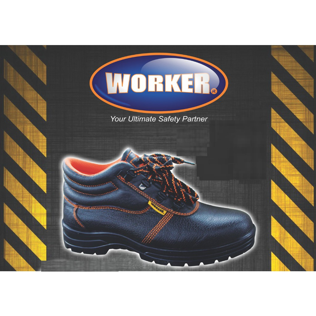 Worker W2000 Safety Boot Kasut Shoes