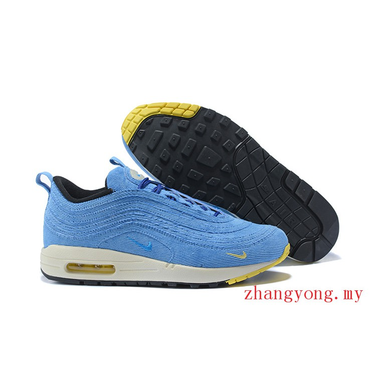NIKE Air Max 971 Sean Wotherspoon Men Running Shoes Women Sport Sneakers