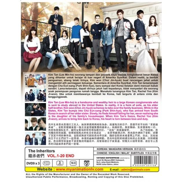 KOREAN DRAMA : The INHERITORS 继承者们 | Shopee Malaysia