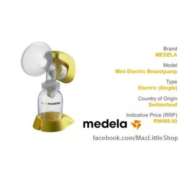 Medela Mini Electric Breast Pump Free Cooler Bag Shopee Malaysia