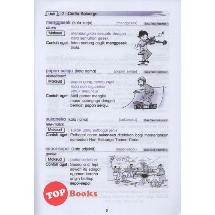 Topbooks Ilmu Bakti Kosa Kata Buku Teks Bahasa Melayu Kssr Tahun 2 2020 Shopee Malaysia