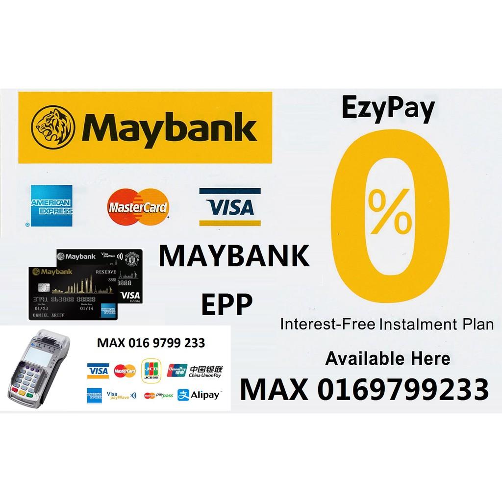 MAYBANK MERCHANT . CREDIT CARD MACHINE . EPP . 0