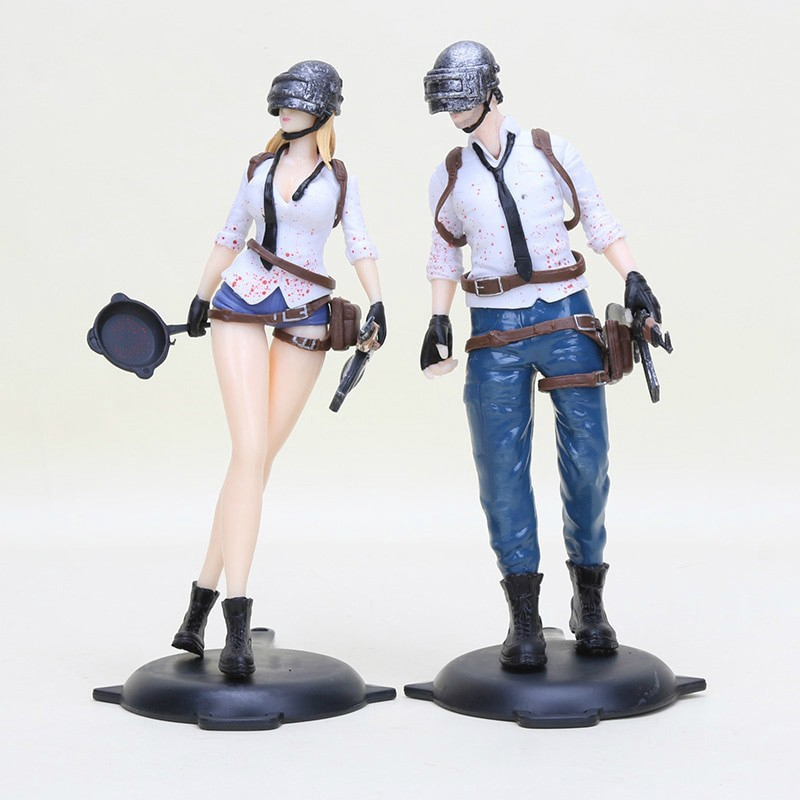 FIGURA PUBG PLAYERUNKNOWN/'S BATTLEGROUNDS PUBG FIGURE 18cm FEMALE