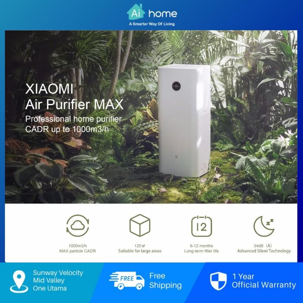 Xiaomi Mi Air Purifier Max - 1000m3/h Particle CADR   360-Degrees Air Purification   Smart Control by App [ Aihome ]
